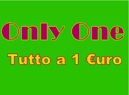 Only One - Tutto a Un Euro Messina