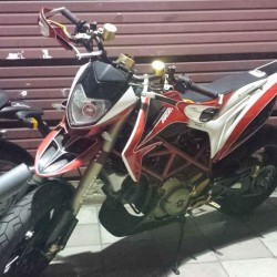 hyper motard 1100 modificata