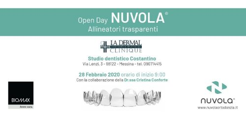 open day allineatori trasparenti